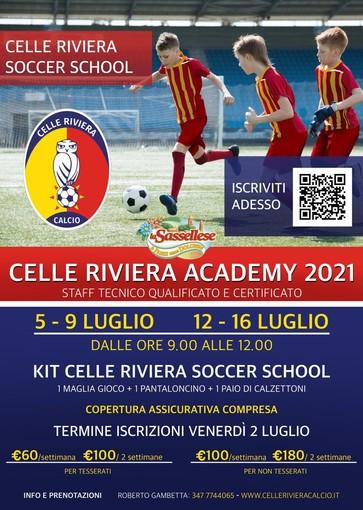 CELLE RIVIERA ACADEMY 2021 - Dal 5 al 9 e dal 12 al 16 luglio