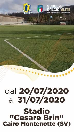 LA CAIRESE ORGANIZZA IL SUMMER SOCCER CAMP 2020: TUTTE LE INFO UTILI