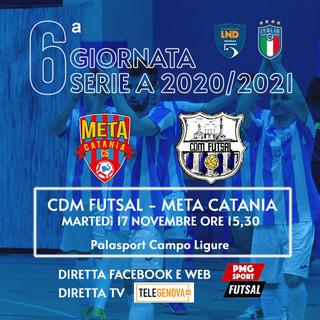 CALCIO A 5 Domani il CDM in campo