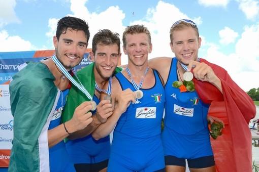 CANOTTAGGIO Mondiali Under 23: Rowing tre volte d'oro e una di bronzo