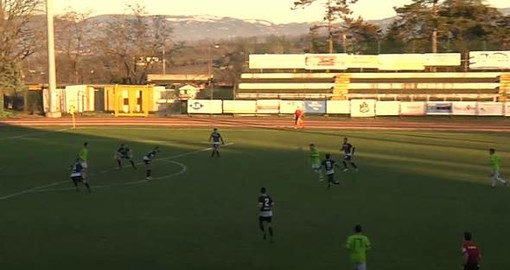LAVAGNESE Serie D: blitz bianconero al Coppi, decide Bei al 92'