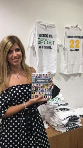 Erika Repetto del Busalla testimonial del nostro almanacco
