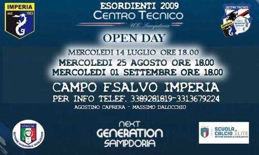 IMPERIA Gli Open Day del settore giovanile