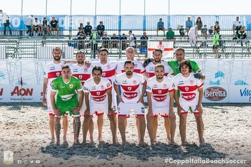 Parte il campionato della Genova Beach Soccer