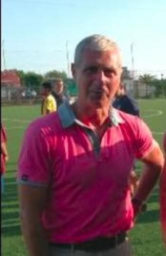 L'ex Genoa Marco Ferraris alla Levante C Pegliese