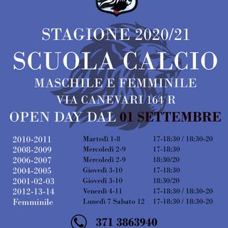 GENOVA FUTSAL CLUB Dall'1 settembre sono partiti gli Open Day