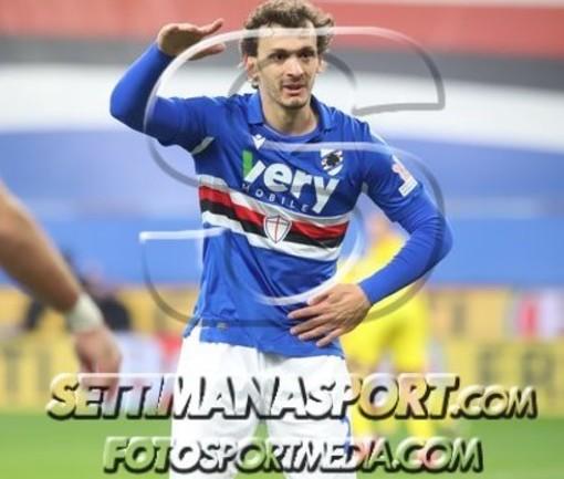 Manolo Gabbiadini rinnova con la Sampdoria