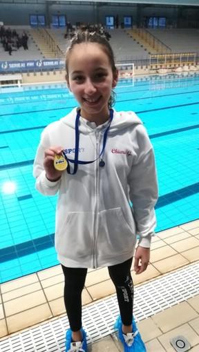 Sincro: Anpi-MySport oro ai Regionali con Chiara Guarnotta