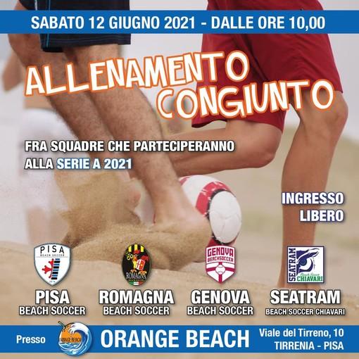 Genova Beach Soccer scatta il pre-stagione. Sabato 12 Giugno test match a Pisa