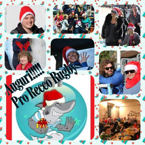 Gli auguri di Natale della Pro Recco Rugby
