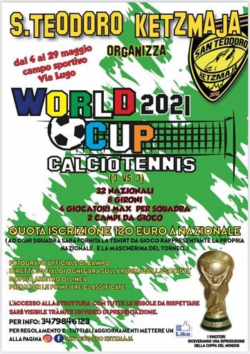 CALCIO TENNIS Anche il Ketzmaja organizza un torneo! Ed è un torneo Mondiale!