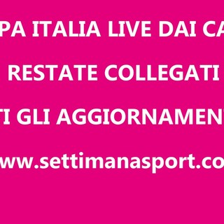 COPPA ITALIA PROMOZIONE Le partite in diretta LIVE