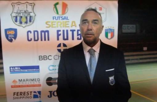 CALCIO A 5/ Cinquina del CDM sull'Aniene, il commento di Vito Ladisa