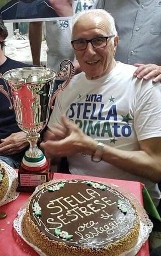 LA STELLA SESTRESE domani dà l'ultimo saluto a Giorgio Margiotta