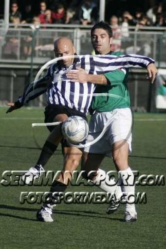 Masitto contro Romeo in un Sestrese-Lavagnese del 2007