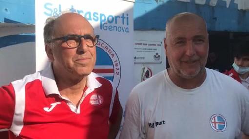 VIDEO/LIGORNA-GENOVA CALCIO Intervista doppia post-partita Maisano/Monteforte