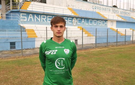 Comunicato stampa Sanremese Calcio - Arriva il portiere 2003 Jacopo Malaguti