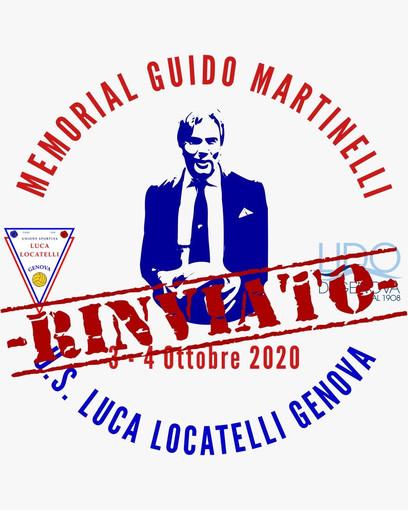 1° Torneo Memorial Guido Martinelli, Genova 3-4 Ottobre 2020