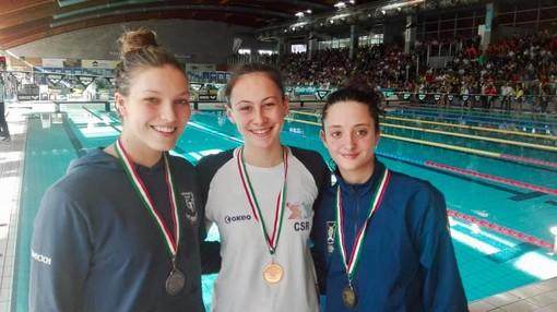 Nuoto - Due argenti per Camilla Simicich ai Criteria giovanili di Riccione