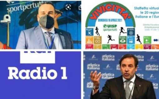 Vivicittà su Radio Uno Rai: il pettorale n.1 va allo sport sociale