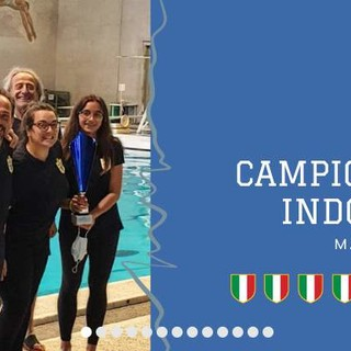 LA NUOTATORI GENOVESI VINCE IL CAMPIONATO ITALIANO INDOOR DI TUFFI MASTER 2021