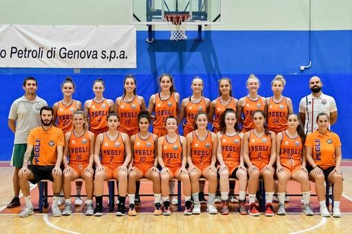 Serie B Femminile: Basket Pegli travolgente a Castelnuovo Scrivia