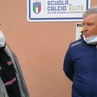 VIDEO/CAMPOMORONE-ALBENGA 3-1 Intervista a Marco Pirovano