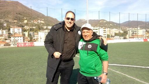 Gianni Baldi con Mario Pisano