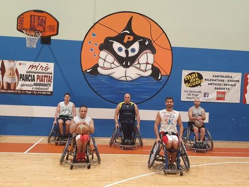 Nuovo progetto a Pegli: ecco il Basket in Carrozzina