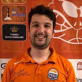 Ambrosini nuova guida tecnica  della C Silver del Basket Pegli