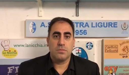 VIDEO Pietra Ligure-Genova Calcio, il commento di Mario Pisano