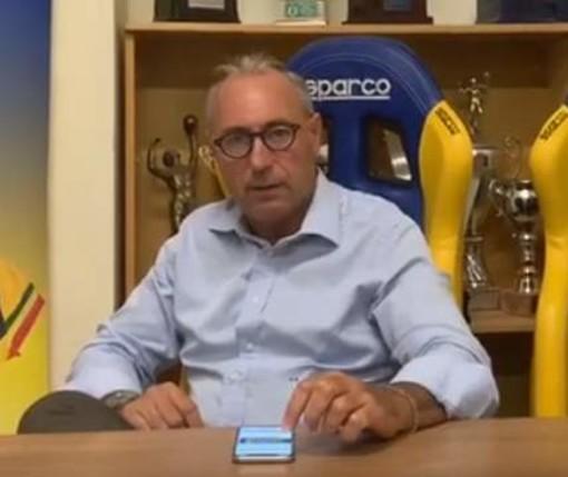 VIDEO Giorgio Parodi presenta l'esordio della PSA Olympia in B2