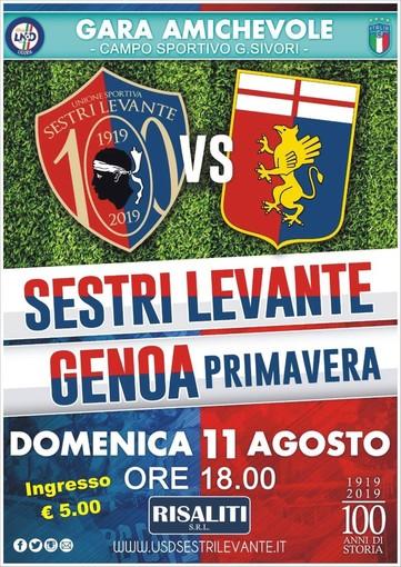 AMICHEVOLE Sestri Levante-Genoa Primavera