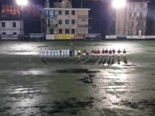 VIDEO San Cipriano-Multedo: calcio o pallanuoto?