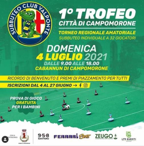 SUBBUTEO Via al 1° Trofeo Città di Campomorone