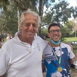 NUOTO Giovanni Sciaccaluga vince il titolo italiano FINP in acque libere