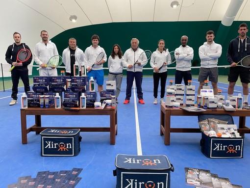 Kiron al fianco della Lubrano Tennis Academy per l'integrazione alimentare e la fisioterapia