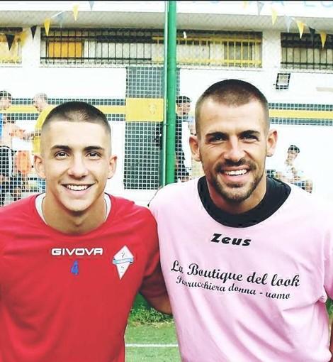 Marco Ventura, a sinistra, col fratello Daniele