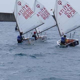 VELA A inizio aprile primo raduno Optimist della I-Zona alla base nautica presso la Fiera di Genova
