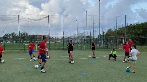 VADO Primo allenamento della stagione per le bambine della Scuola Calcio