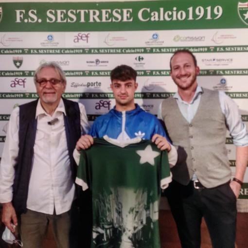SESTRESE Un giovane talento ex Genoa in verdestellato